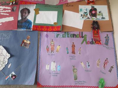 projekt afrikanische mode